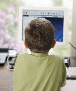 Children-addicted-internet
